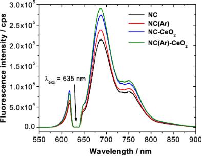 Ceria/polymer nanocontainers for high-performance encapsulation of