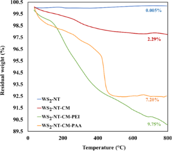 Tungsten disulfide-based nanocomposites for photothermal therapy
