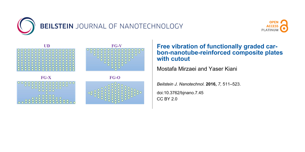 Free vibration of functionally graded carbon-nanotube