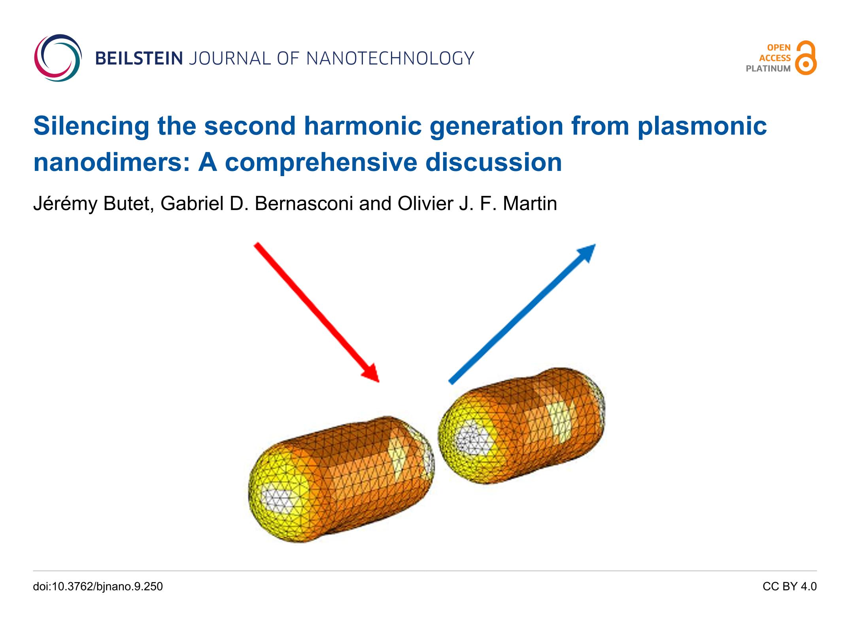Silencing the second harmonic generation from plasmonic