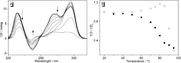 A comparative study of the interactions of cationic