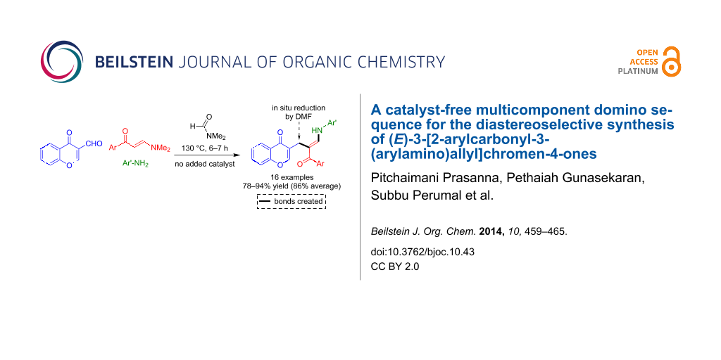 A Catalyst Free Multicomponent Domino Sequence For The