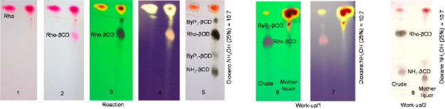 New synthetic strategies for xanthene-dye-appended cyclodextrins