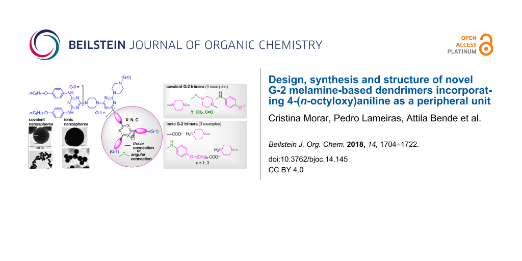 Design, synthesis and structure of novel G-2 melamine-based