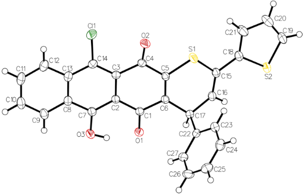 First Thia Dielsalder Reactions Of Thiochalcones With 14 Quinones