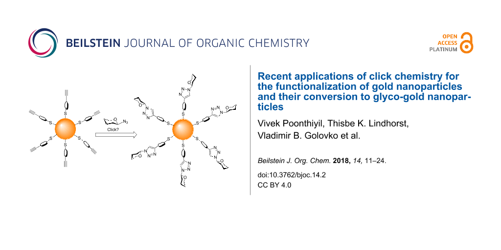 Recent applications of click chemistry for the