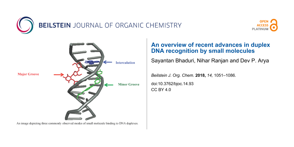 An overview of recent advances in duplex DNA recognition by