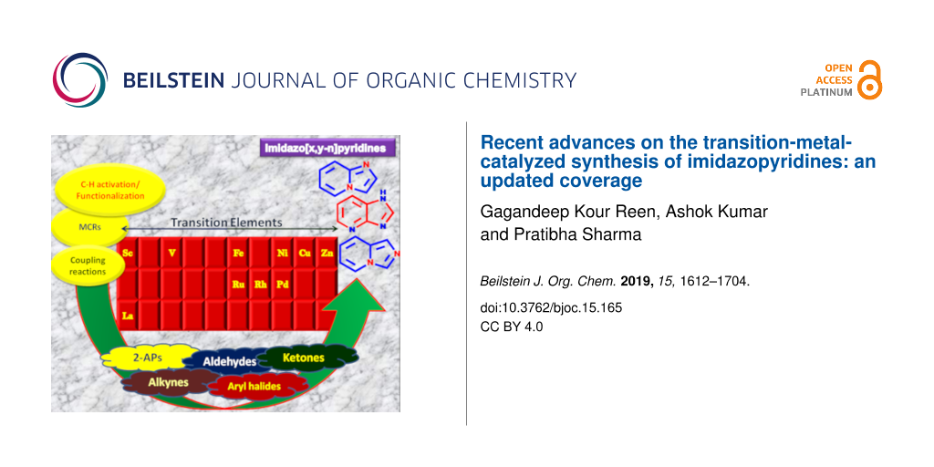 Recent advances on the transition-metal-catalyzed synthesis