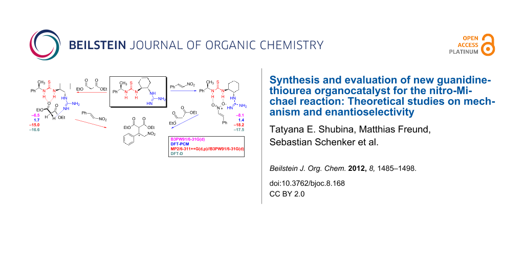 Synthesis and evaluation of new guanidine-thiourea organocatalyst