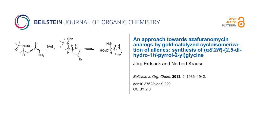 An approach towards azafuranomycin analogs by gold-catalyzed