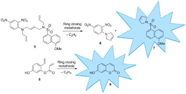 ring closing metathesis solvent Boston college and mit chemists report e-selective macrocyclic ring-closing metathesis not only with high selectivity but also with 20 times less solvent.