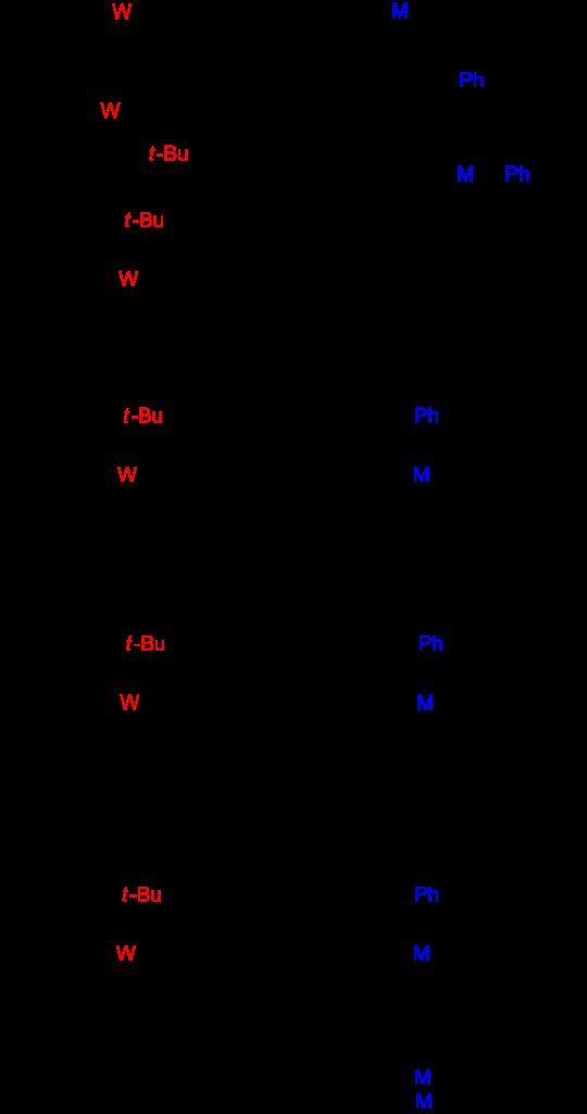tungsten catalyst metathesis