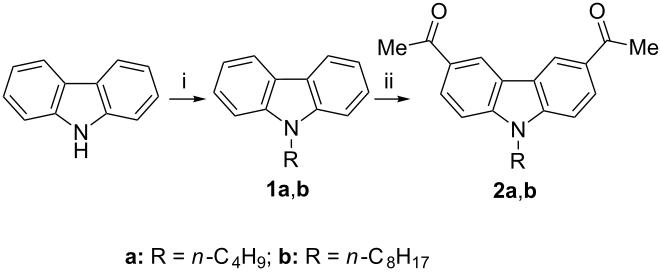 Novel carbazole–pyridine copolymers by an economical